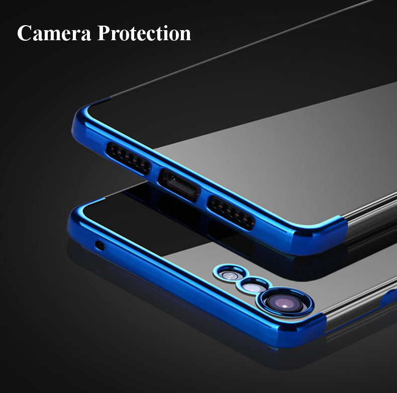 Bakeey Luxury Ultra-Thin Plating Soft TPU Protective Back Cover Case For Smartisan Nut Pro 2