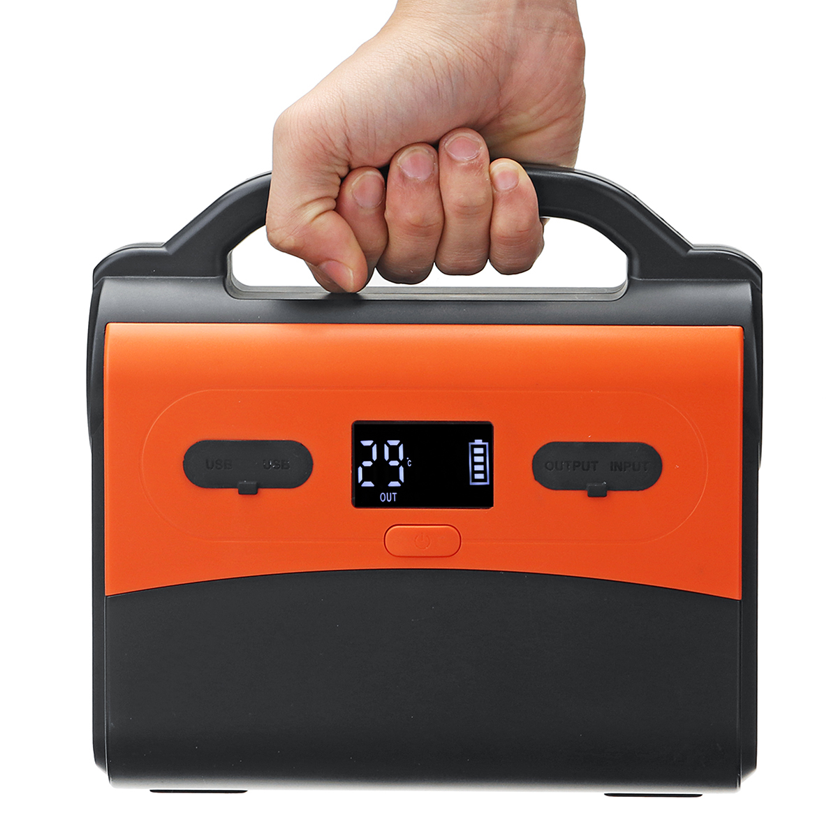 110V Portable Generator Emergency Power Supply 40800mah 100W Lithium Rechargeable Power Station