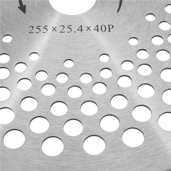 25.4mm 10 Inch 40 Teeth Carbide Blade for Brush Cutter Strimmer