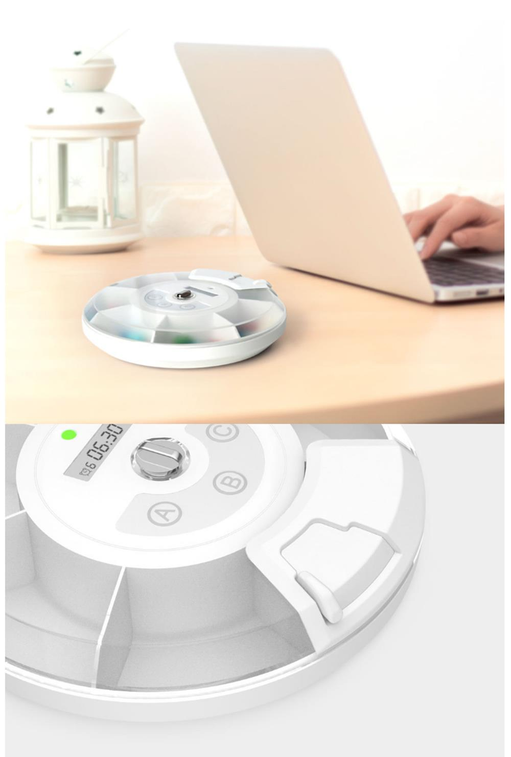 Xiaomi ZAYATA Portable Smart bluetooth Pill Case Kit Alarm Timer Drug Storage Box Office Home School