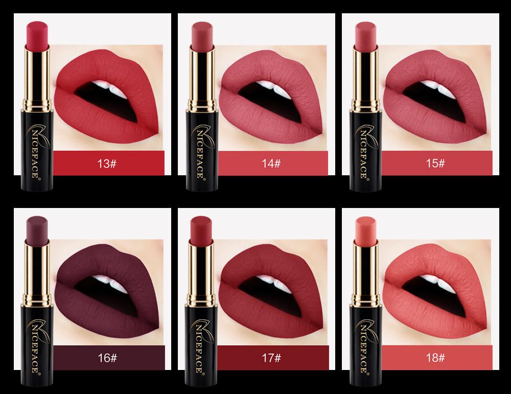 24 Colors Halloween Velvet Lip Stick Fashion Lip Makeup