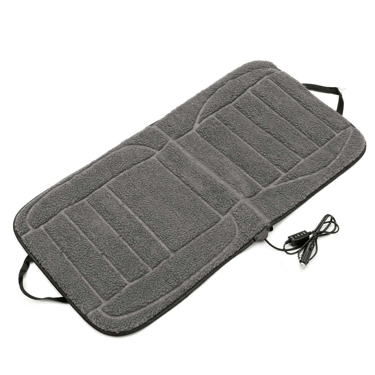12V Car Van Auto Front Seat Heated Cushion Seat Warmer Winter Household Cover Electric Heating Mat