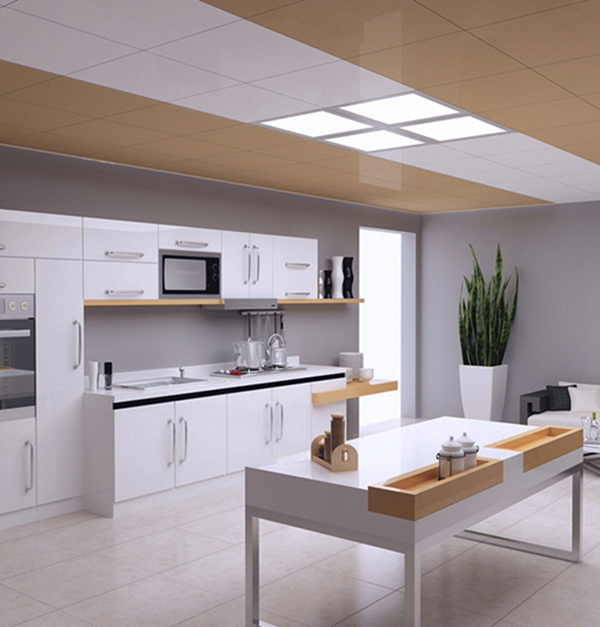 Ultrathin 8W 12W LED Square Panel Ceiling Light 300X300 Integrated Embedded for Home Kitchen AC220