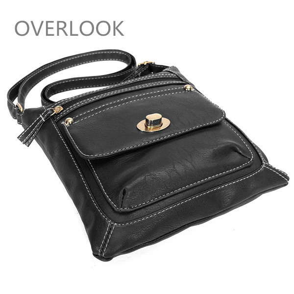 Women PU Leather Crossbody Bag Shoulder Bag