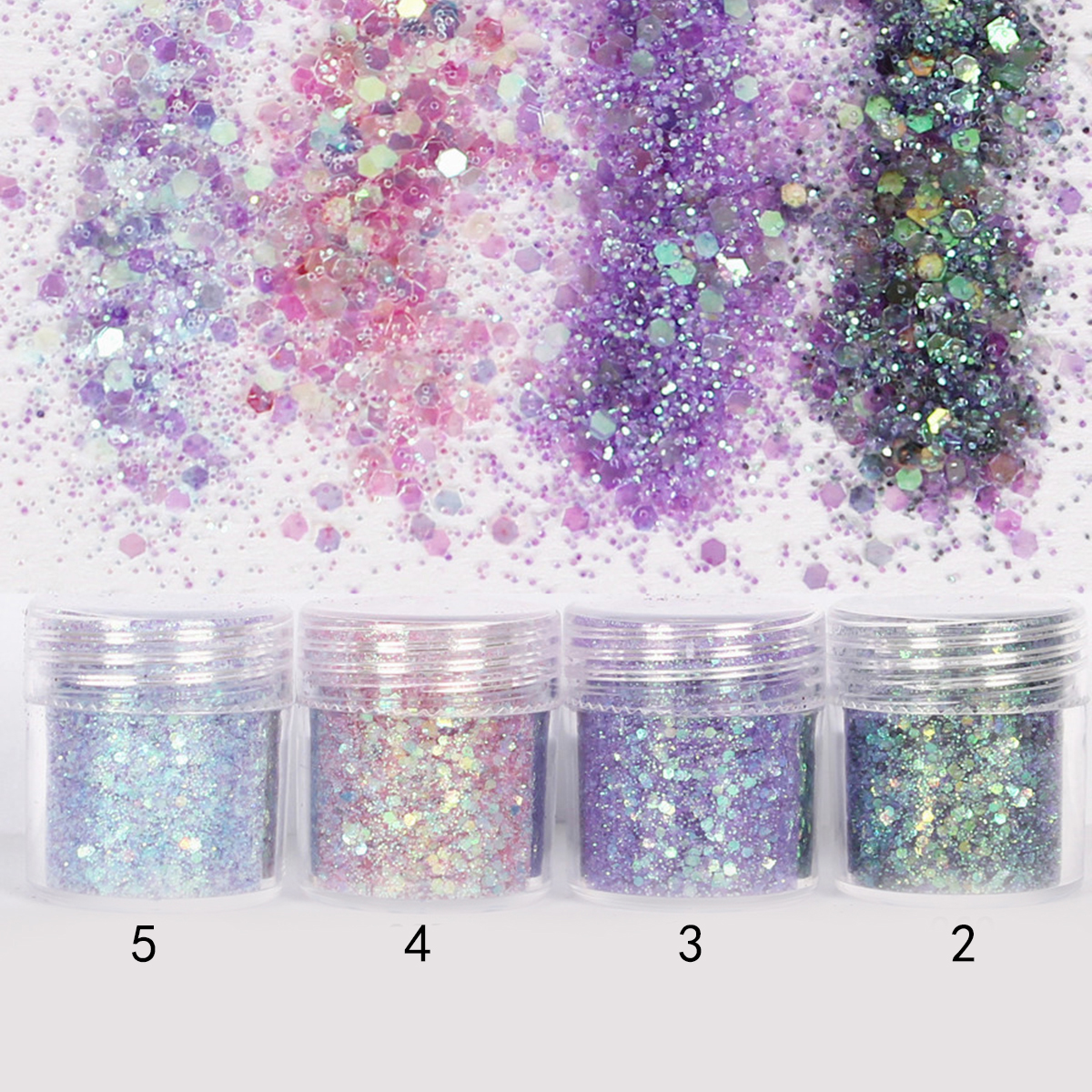 Glitte DIY Powder Nail Art Decoration Manicure Shinning Tips