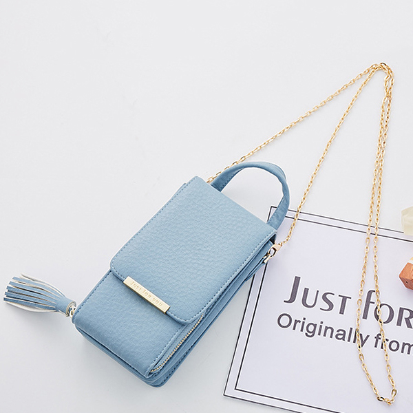 Women Luxury Phone Bag with Shoulder Strap