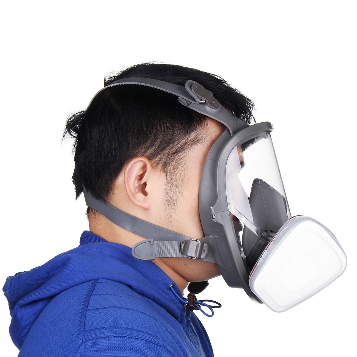 15 in 1 Full Face Gas Mask Facepiece Respirator Painting Spraying Mask 6800 Dust