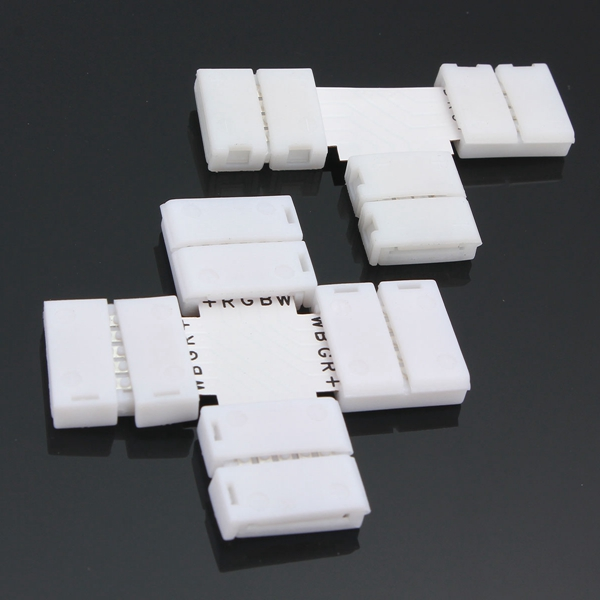 4 Pin 10MM 3 Shape PCB Connector For RGB LED Strip Light Connection