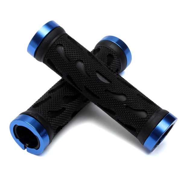 Double Lock On MTB Handlebar Grips Locking BMX MTB Road Bike Bicycle Handlebar