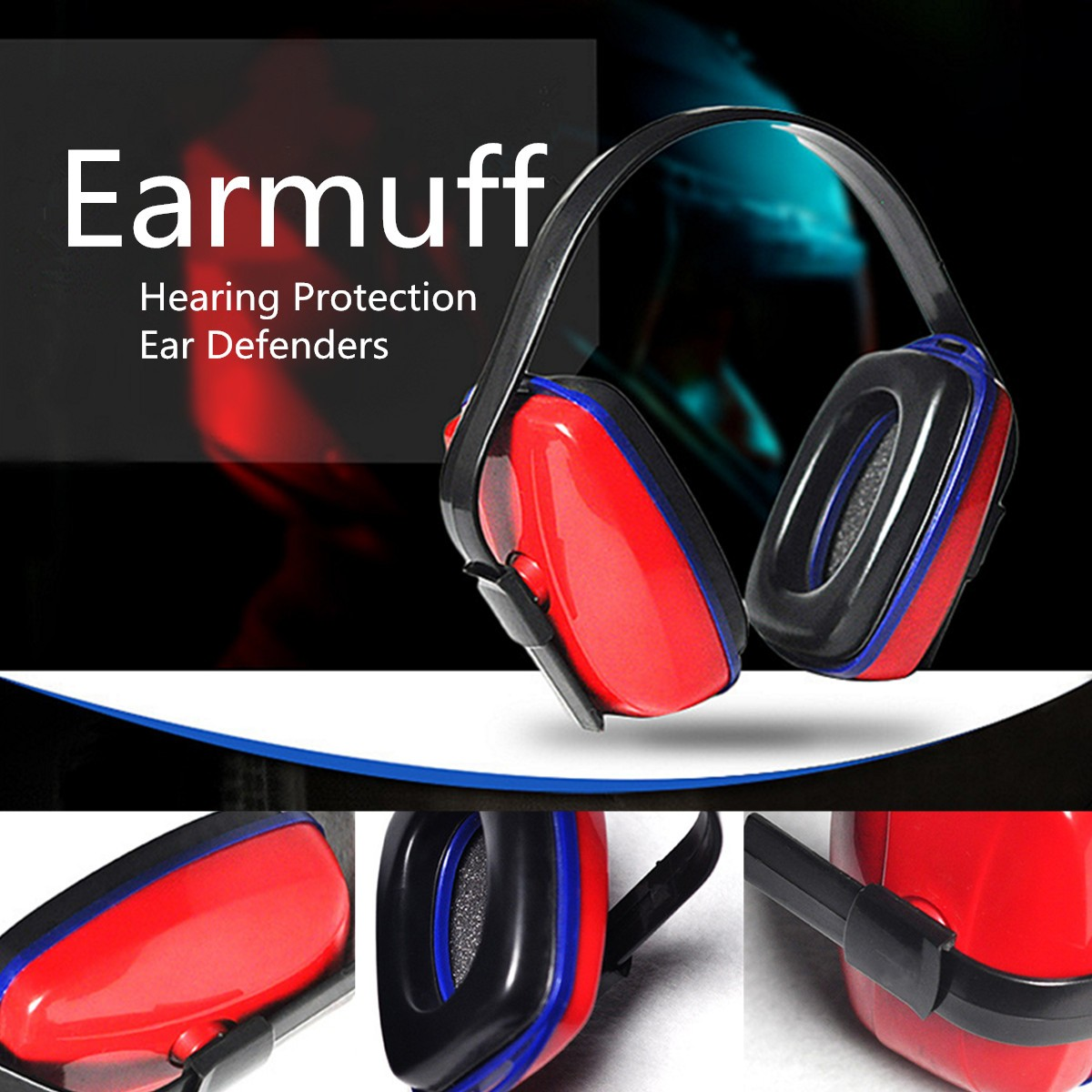 Adjustable Sleep Headset Ear Muffs Hearing Noise Protection Ear Defenders Safety