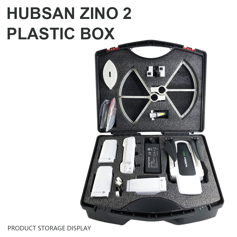 Waterproof Dustproof Portable Storage Carrying Plastic Case Box for Hubsan ZINO 2 RC Drone Quadcopter