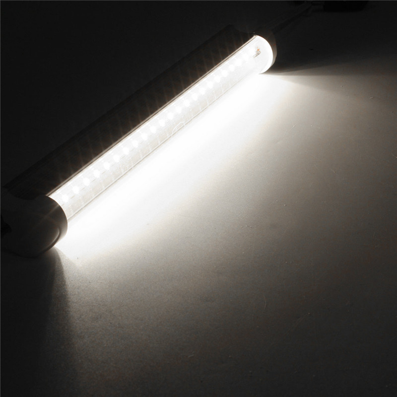 T8 30CM 10W SMD 2835 LED Warm Cool White Fluorescent Tube Light Lamp Bar AC175-265V