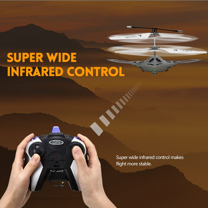 Flytec TY920 2CH Brushless Infrared Remote Control Micro Helicopter