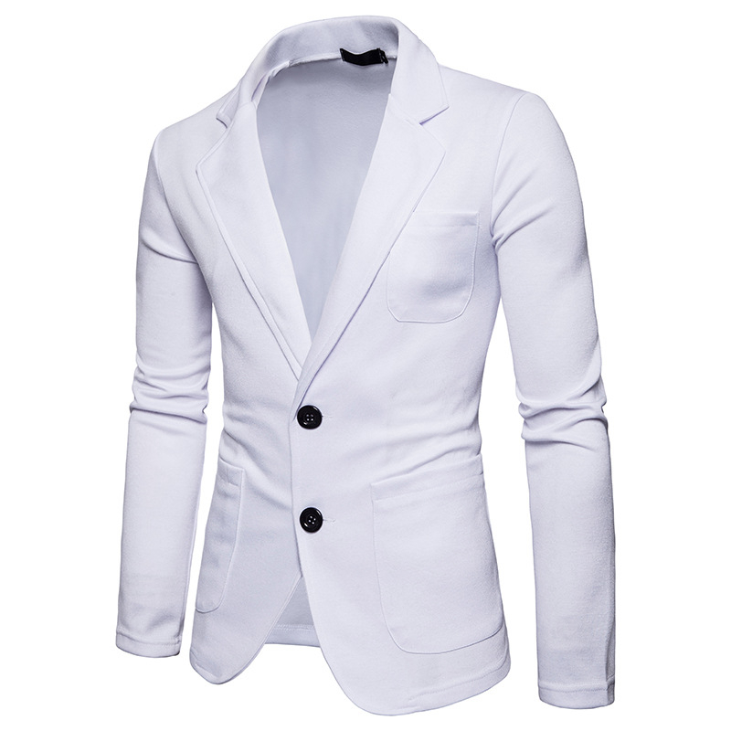 Stylish 2 Buttons Casual Suit Jacket for Men