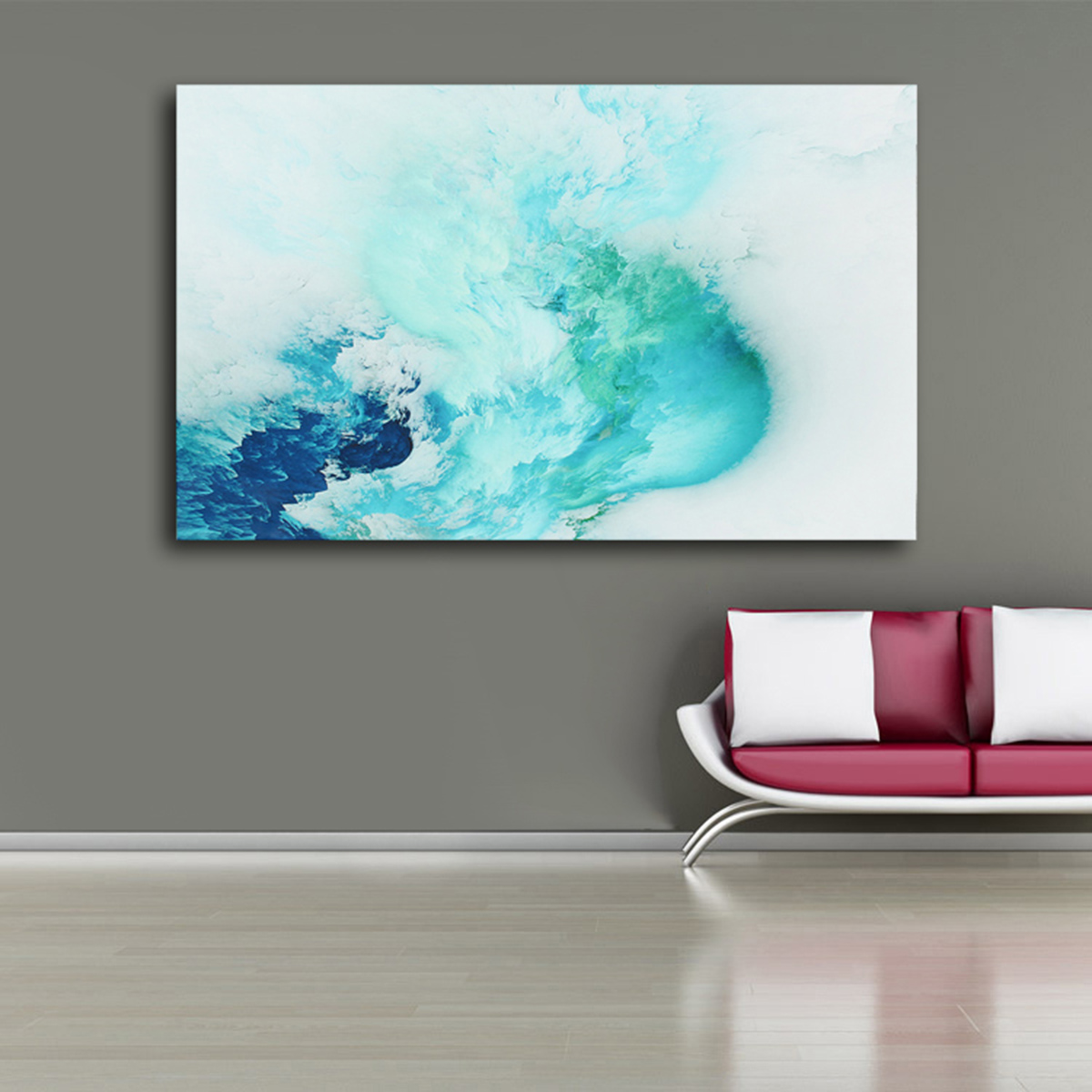 Abstract Beautiful Cloud Colorful Paintings Canvas Print Home Decor Wall Art GIFT