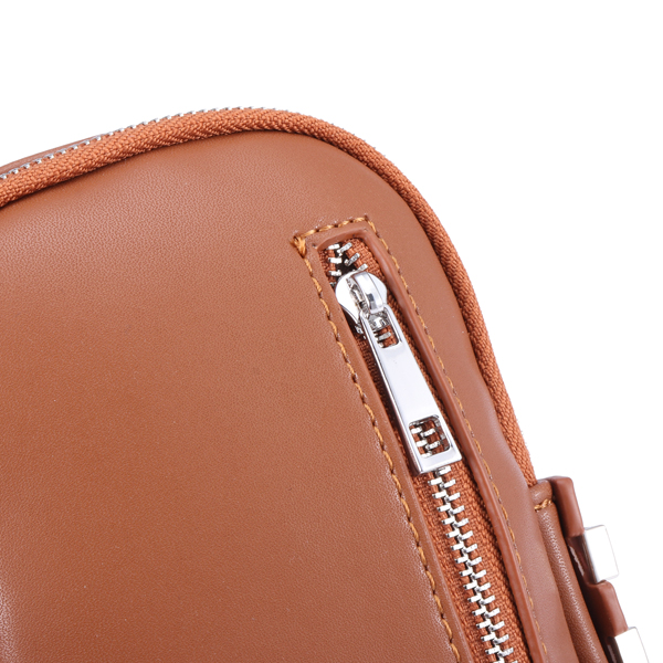 Women Lady Crossbody Shoulder Bag Phone Bag Pouch PU Leather Wallet Purse for Cell Phone Below 5.5in