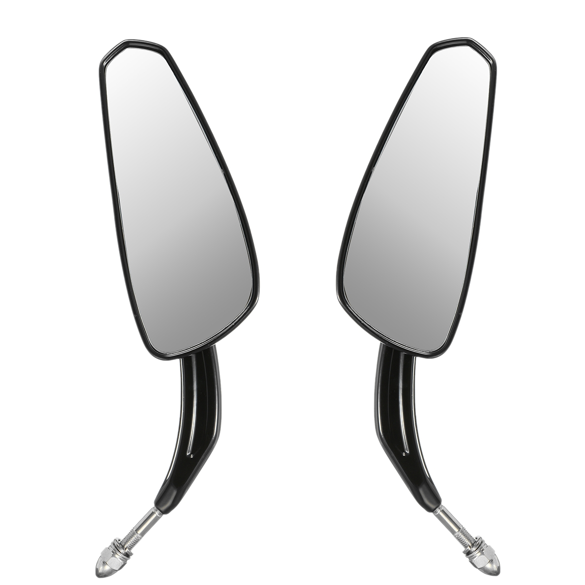 Motorcycle Review Mirrors Black Rear Blade For Harley Sportster Softail Road King Glide