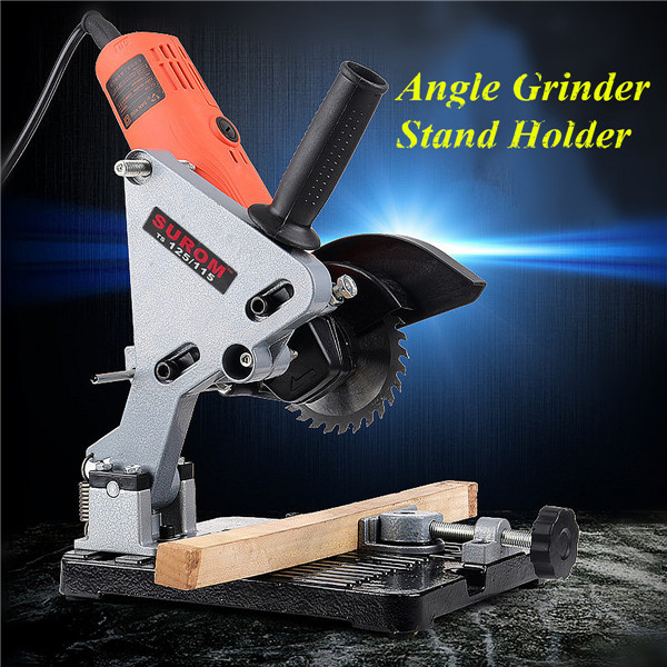 Electric Angle Grinder Stand Angle Cutter Support Bracket Holder Stand Dock Cast Iron Base