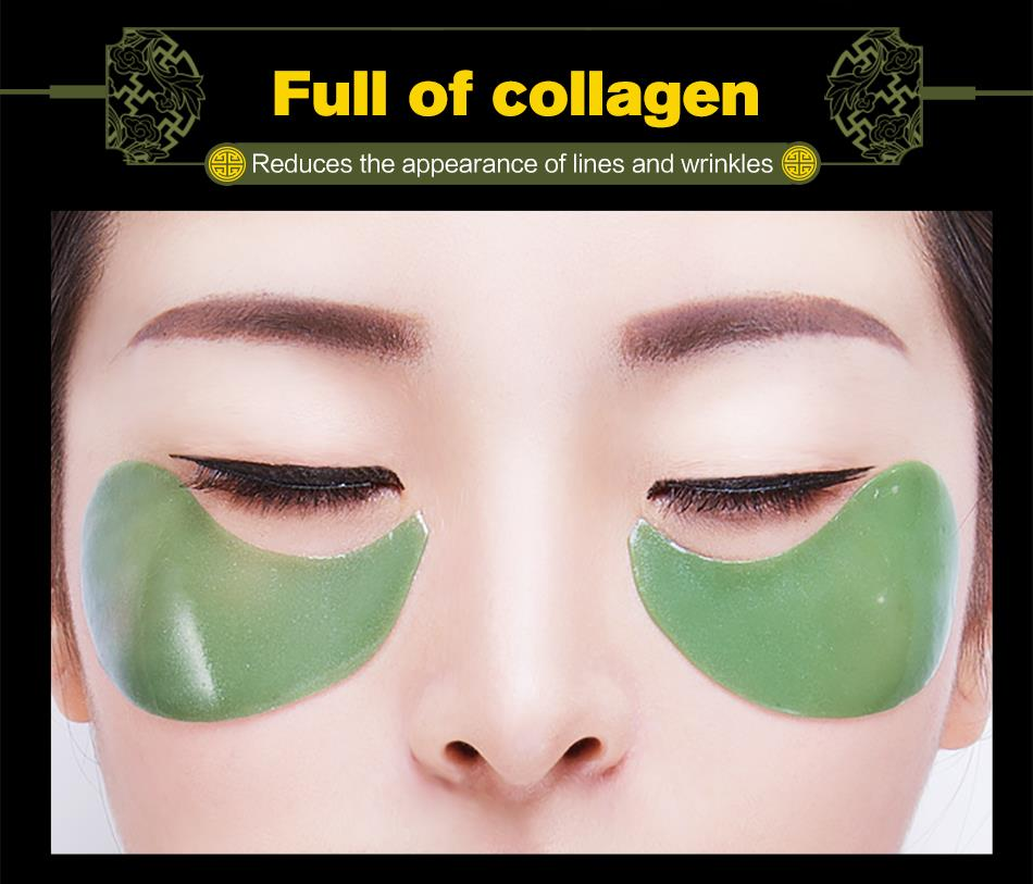 MEIKING 60pcs Collagen Crystal Eye Mask Gel Eyes Patches Skin Care Tightening Remover Dark Circles
