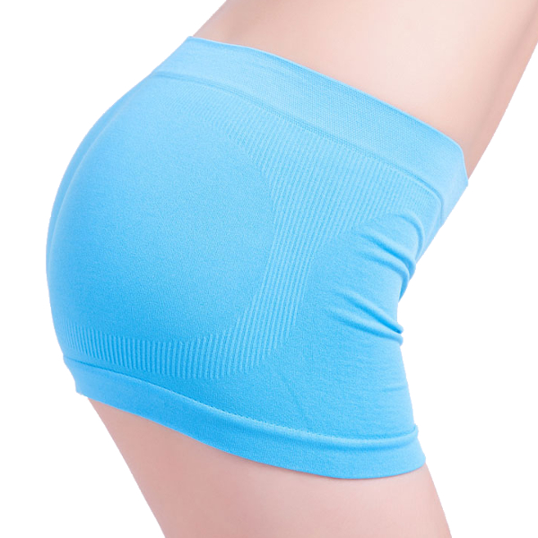 Women Elastic Breathable Fitness Seamless Boyshorts Yoga Pants Boxers Underwear