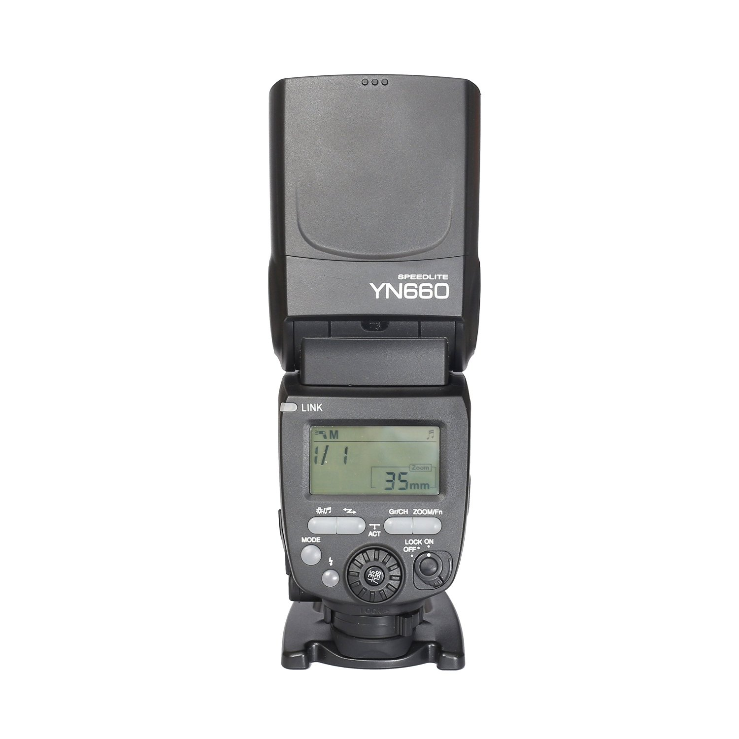Yongnuo YN660 Wireless GN66 2.4G Flash Speedlite for Canon Nikon Pentax Cameras