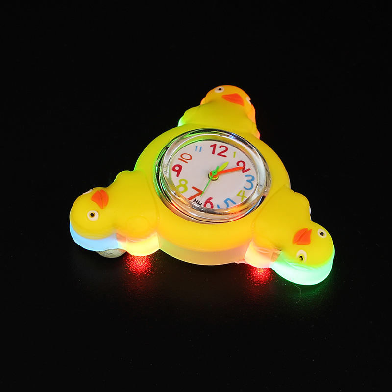 LED 3D Rotating Cartoon Children
