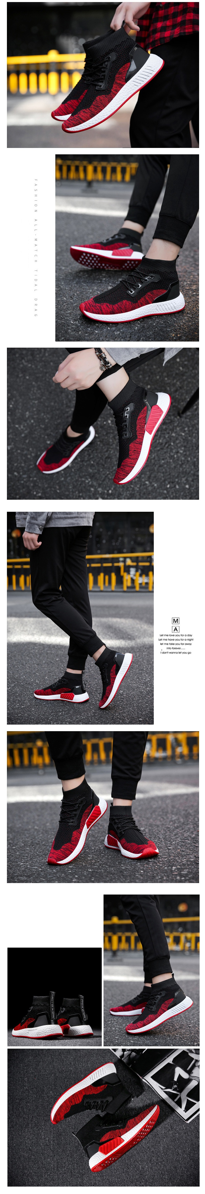 Men Running Shoes Casual Athletic Shoes Outdoor Sports Sneakers