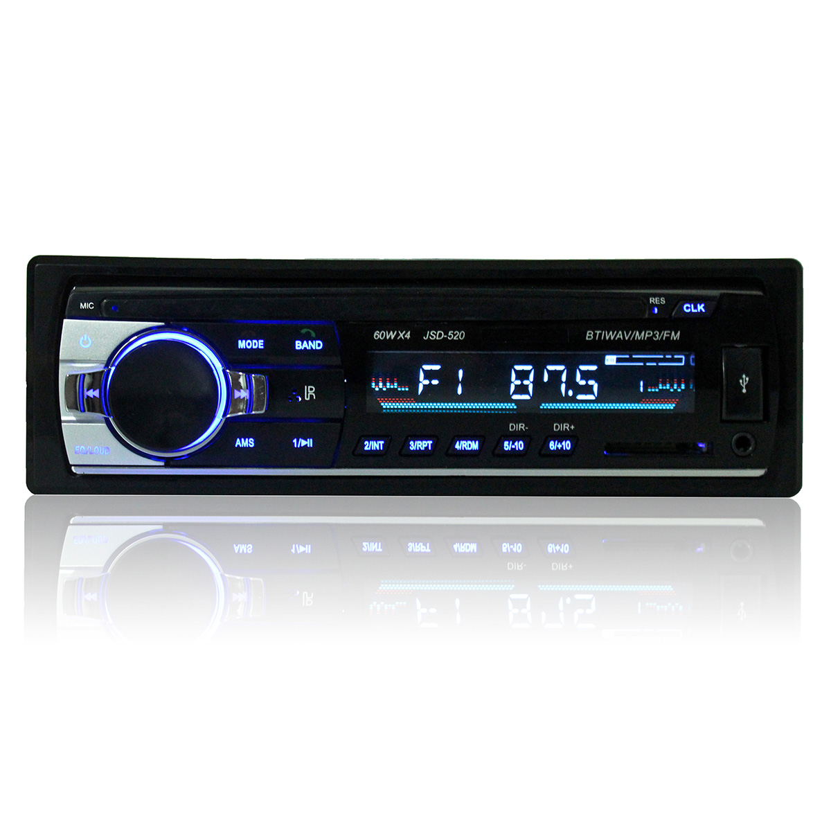 Car Audio Stereo MP3 Player Bluetooth Stereo Radio FM A