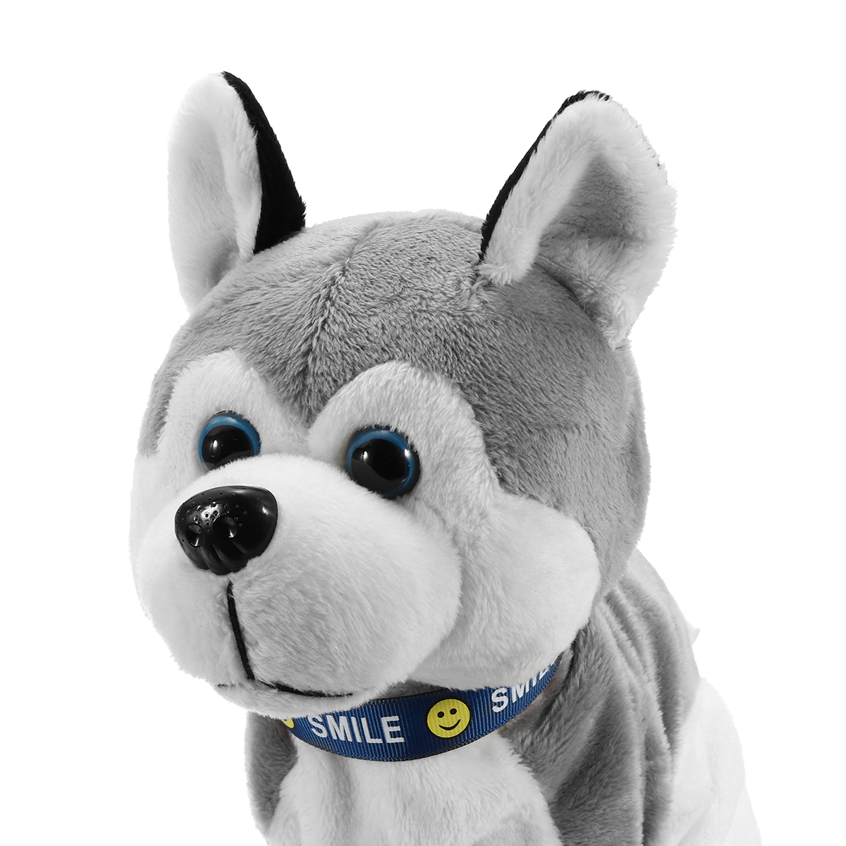 Interactive Dog Electronic Pet Stuffed Plush Toy Control Walk Sound Husky Reacts Touch