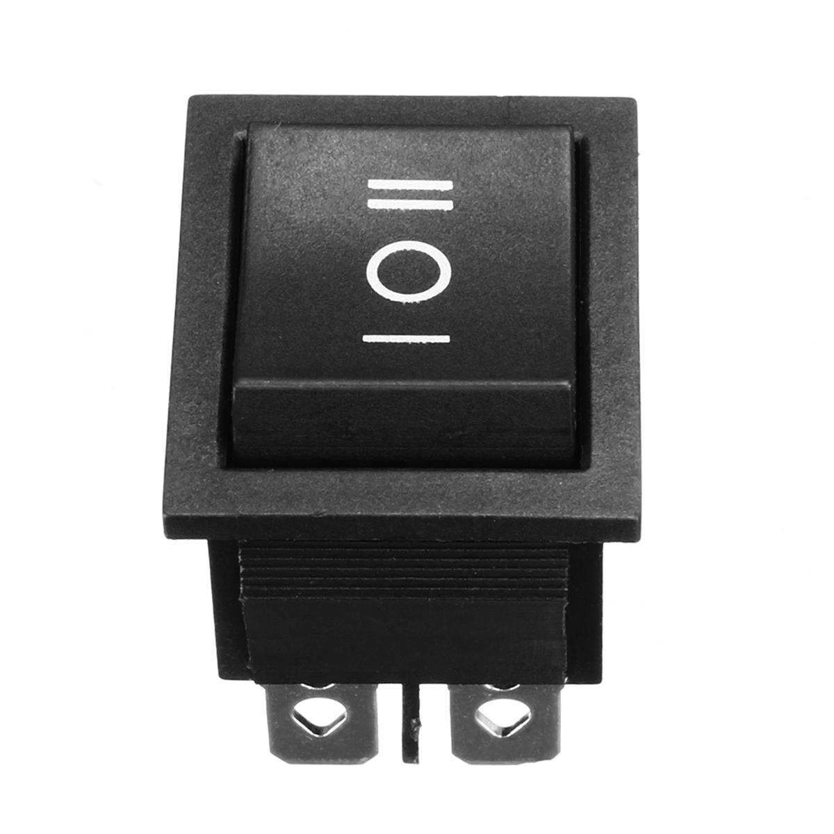 250V AC 6 Pin 3 Position Rocker Switch Hoist Boat ON-OFF-ON Push Button Switch