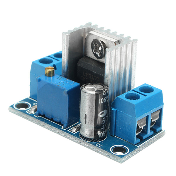 LM317 DC-DC 1.5A 1.2-37V Adjustable Power Supply Board DC Converter Buck Step Down Module Adjustable Linear Voltage Regulator
