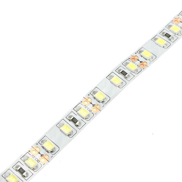 5M SMD3528 600 LED Non-waterproof Cool White Double Density Flexible Strip Light DC24V