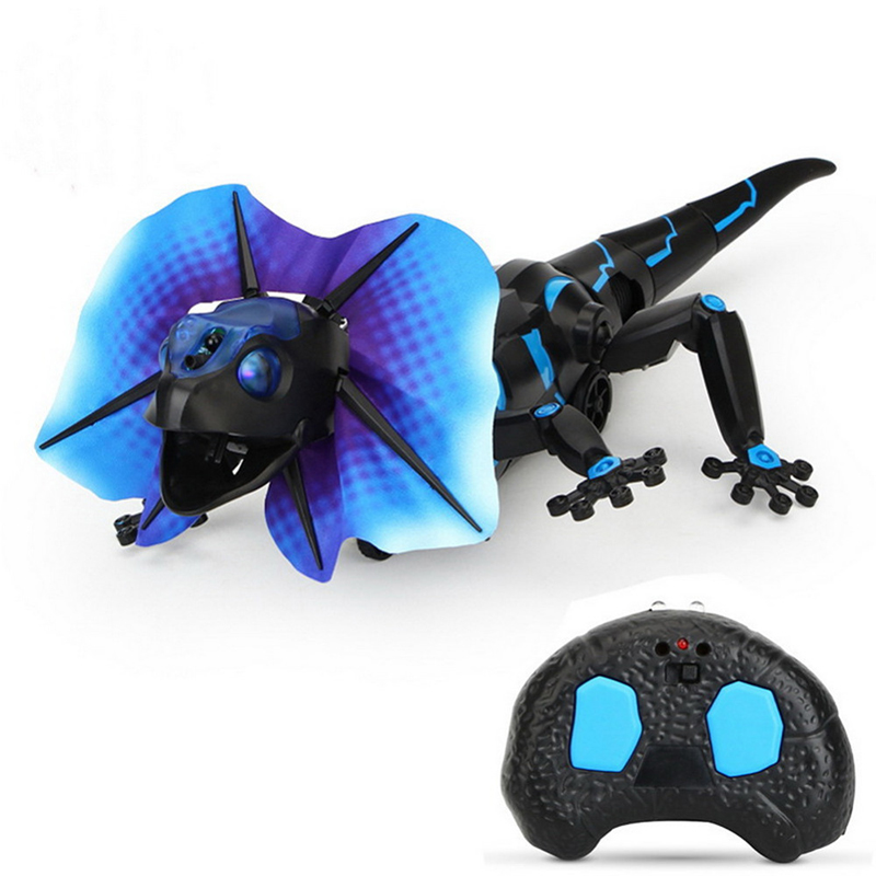 Infrared Remote Control Toy Lizard Induction RC Simulation Crawl Robot Toys For Children
