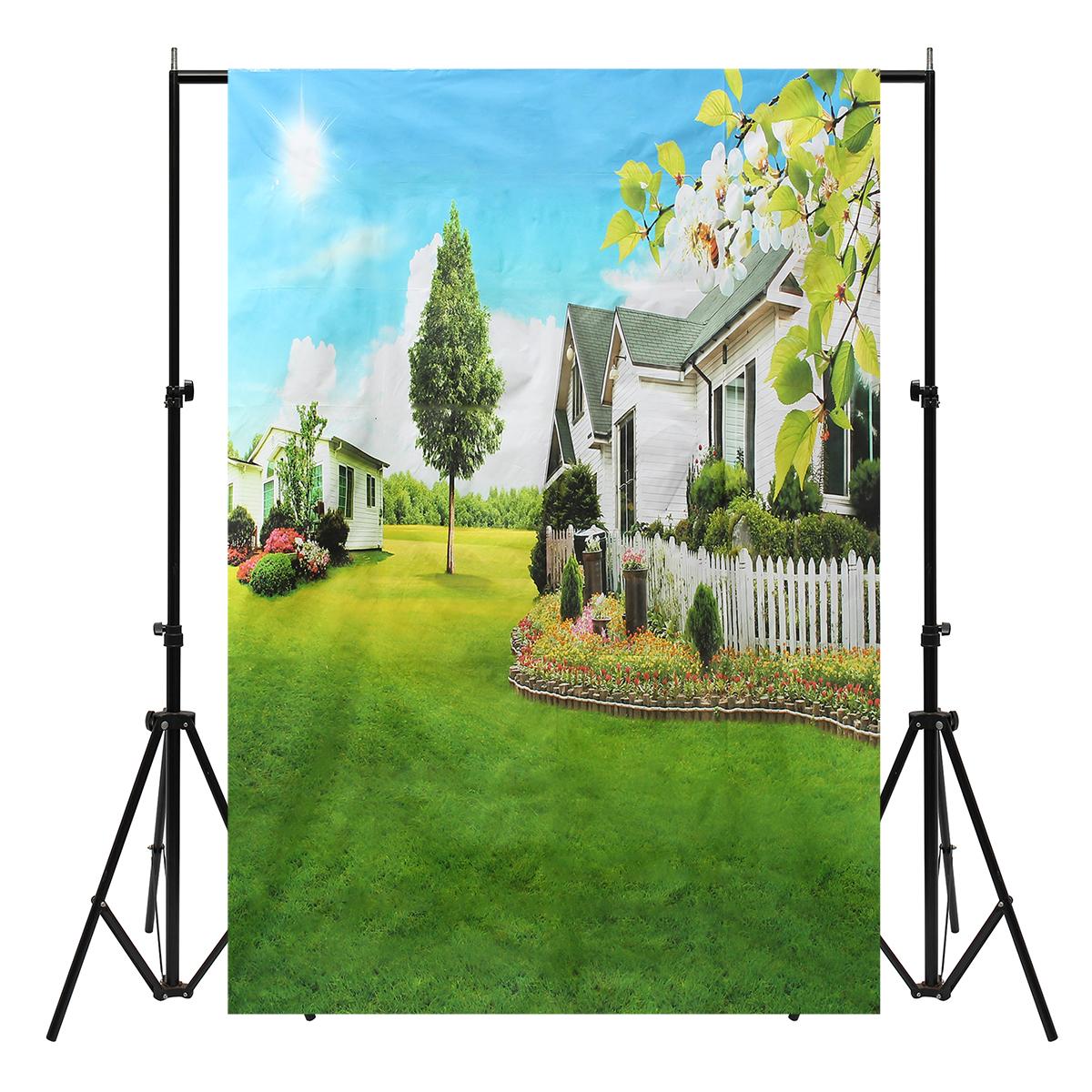 5x7FT Vinyl Outdoor Lawn Photography Background Backdrop Studio Prop