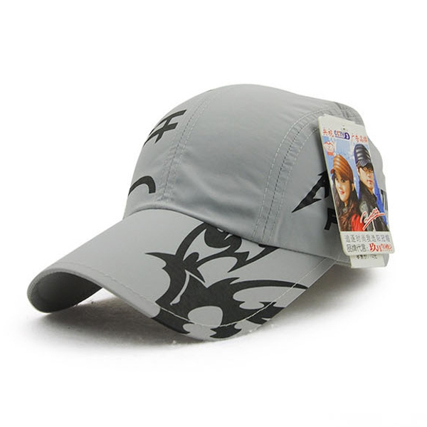 Men Women Cotton Flower Print Quick Drying Baseball Cap Outdooors Sport Sunshade Hat Adjuatable