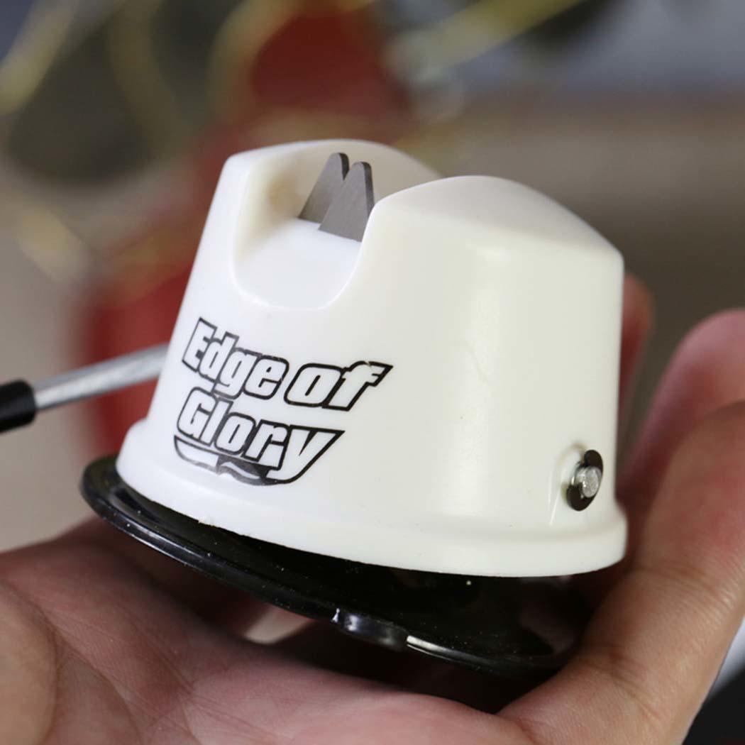 Household Professional Non-slip Sharpener Sharpen Stone Kitchen Secure Suction Sharpener Grinder