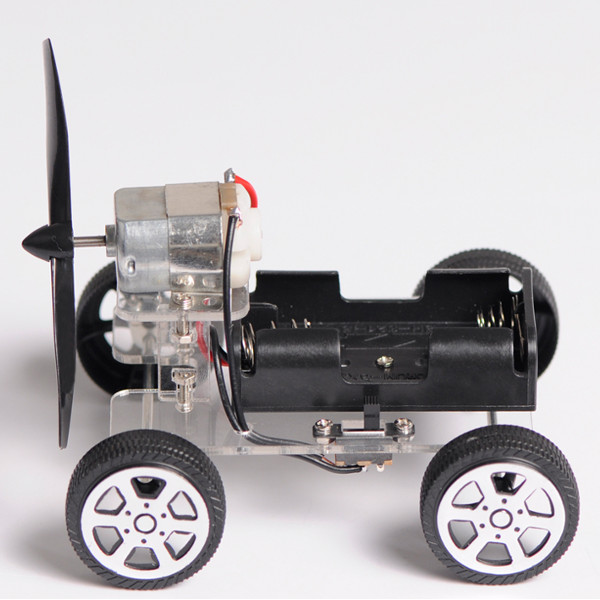 Mini wind car diy puzzle robot kit for arduino sale for Small motors for robots