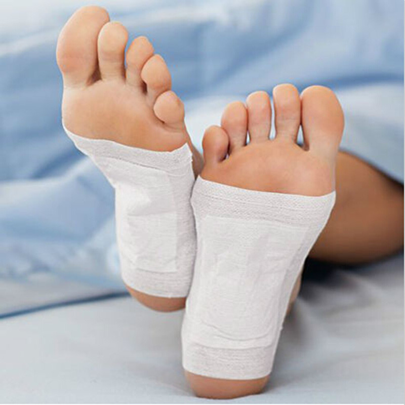 1 Pair Household Detox Foot Patch Body Toxin Health Feet Pads Adhesive Sheets Health Care