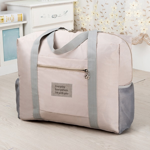 Women Nylon Large Capacity Light Weight Travel Bag Handbag Storage Bag