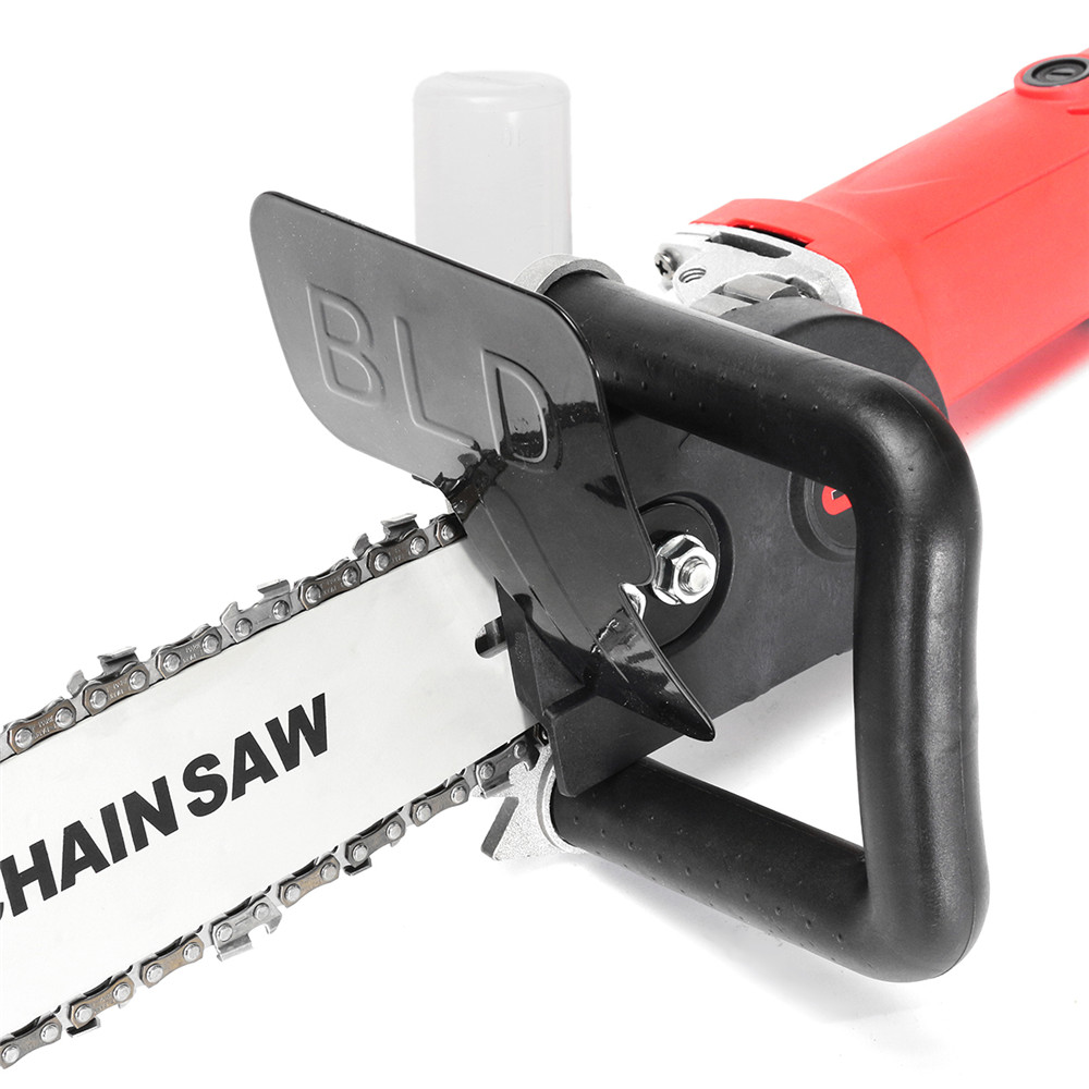 Drillpro Upgrade 11.5 Inch Chainsaw Bracket Changed 100 125 150 Angle Grinder Into Chain Saw
