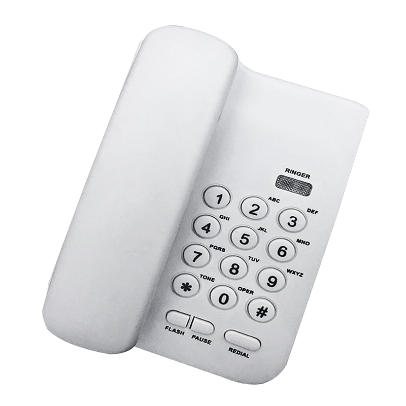 KX-T3026CID White Black Desktop Wall Mount Corded Phone Telephone For Home Office Hotel Use