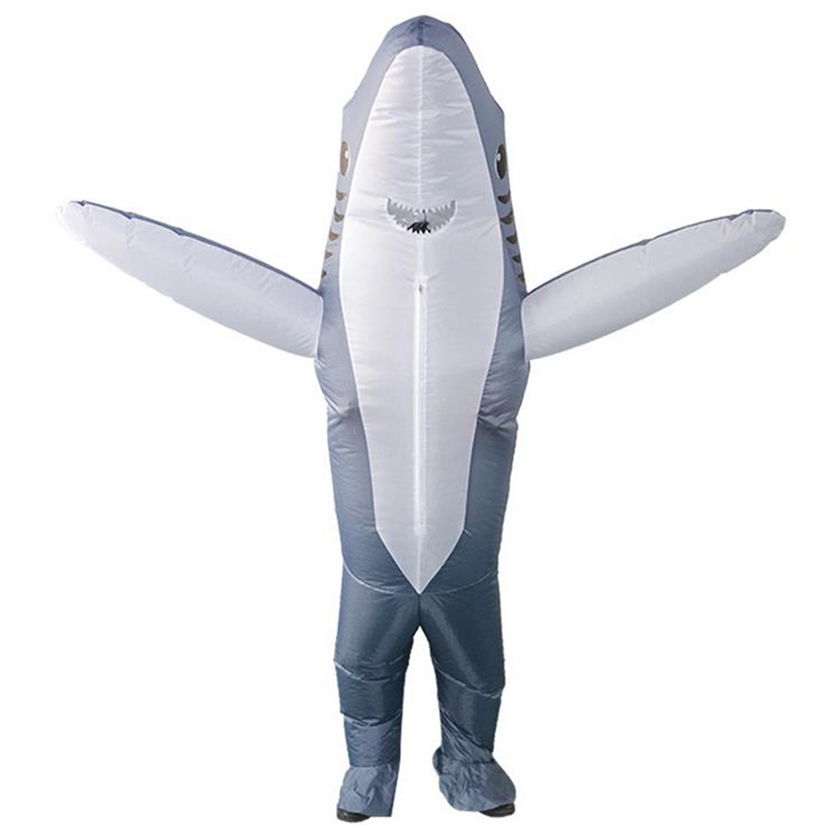 Inflatable Costumes Shark Adult Halloween Fancy Dress Funny Scary Dress Costume