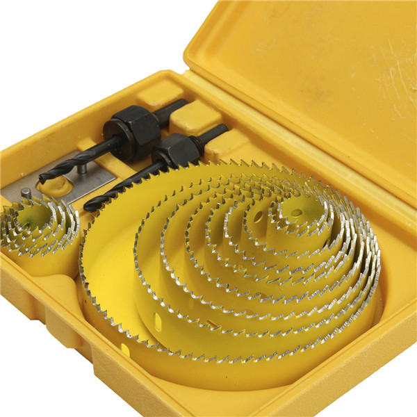 16pcs Hole Saw Cutting Set With Hex Wrench 19-127mm Hole Saw Kit