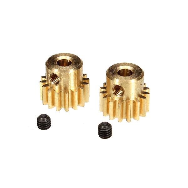 hbx 1/12 12528 brushless motor pinion gears 16t set screws 3x3mm 2pcs upgraded parts