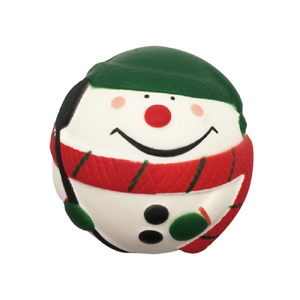 SquishyFun Squishy Snowman Christmas Santa Claus 7cm Slow Rising With Packaging Collection Gift