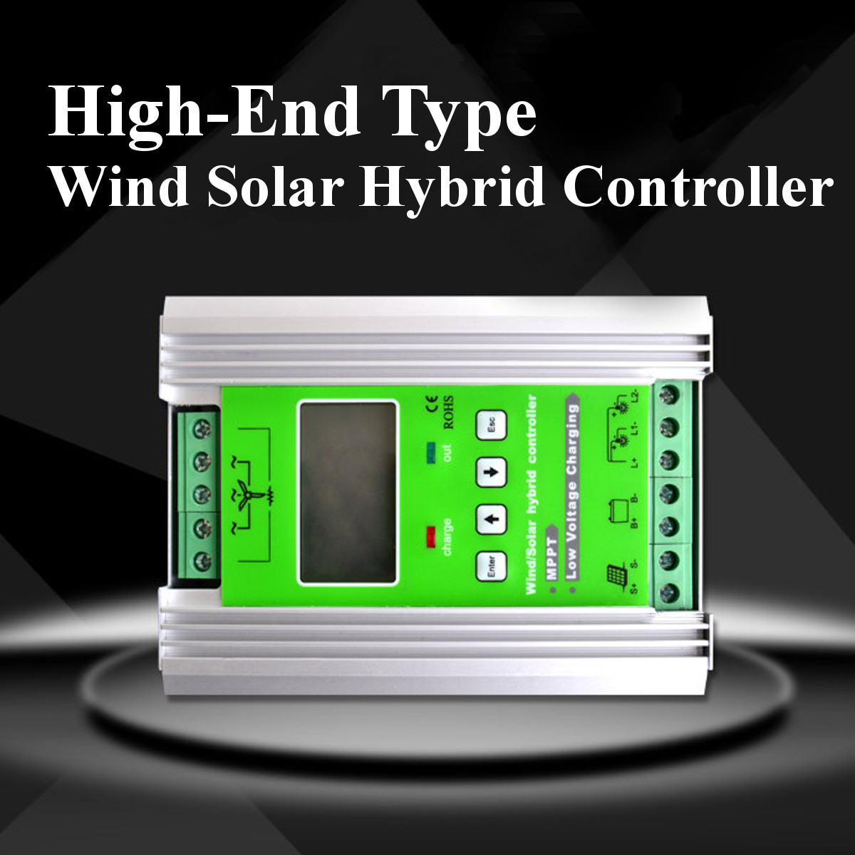 12v 24v Auto Boost Mppt Wind Solar Hybrid Controller 500w 300w Voltage 18v Open Frame Led Driver Circuit Diagram Shipping Methods