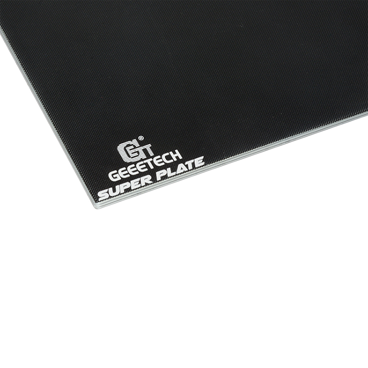 Geeetech® 230*230mm*4mm Superplate Silicon Carbide Black Glass Platform With Microporous Coating For 3D Printer
