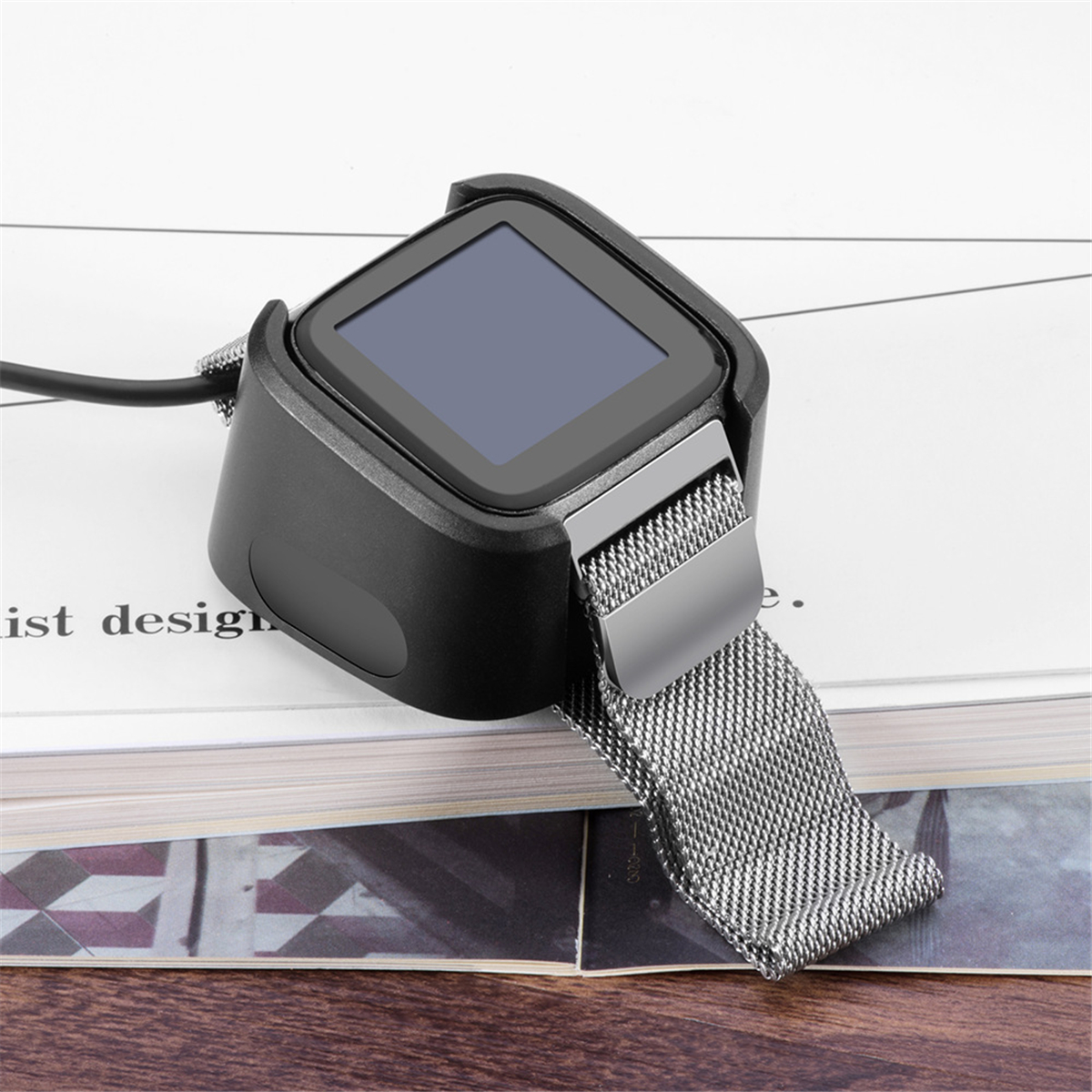 1M Replacement USB Charger Charging Cable for Fitbit Versa Smart Fitness Watch