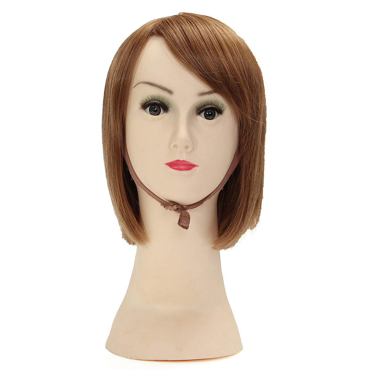PVC Mannequin Head Model Manikin for Wig Hair Glasses Display