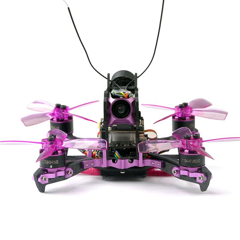 Upgraded Eachine Lizard105S FPV Racing Drone BNF Omnibus F4SD 28A Blheli_S 720P DVR 25/200mW VTX 4S